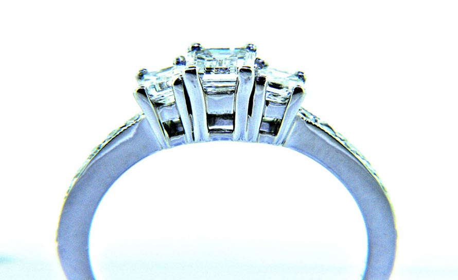 pc future cubic engagement cz set silver bridal wedding with band present sterling zirconia ring promise rings big past