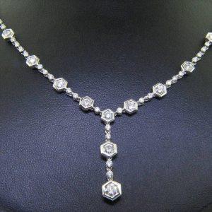 Uniquely Brilliant Diamond Necklace