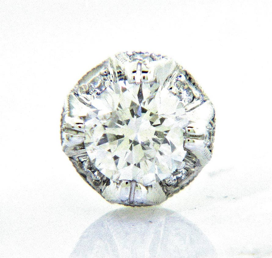 Bling Diamond Stud Earrings Ll Pavorsky