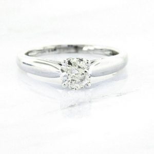 Ladies 14k classic Diamond Engagement Ring