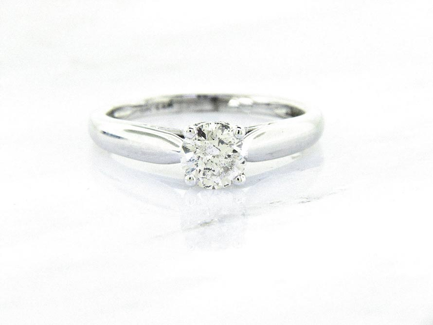 Ladies 14k classic Diamond Engagement Ring