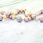 Mutli-Color Pastel Pearl Necklace