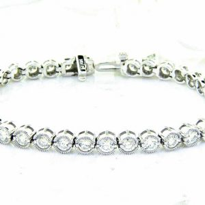 Unique Diamond Eternity Bracelet