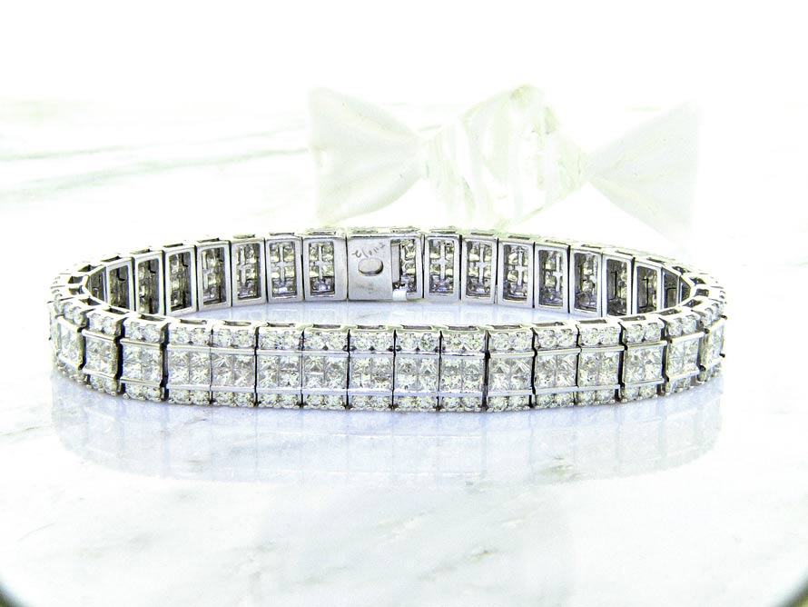 prong bangles ladies bangle round union cut u diamond band w platinum eternity brilliant