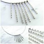 """Waterfall"" Diamond Necklace"