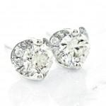 Amazing Diamond Stud Earrings