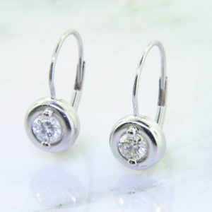 Perfect Dangle Diamond Stud Earrings