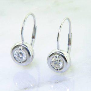 Perfect Dangle Diamond Stud Earrings