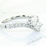 Engament Ring You-n-Me Collection