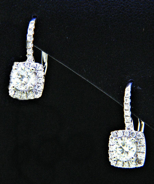 Ladies 18k Pillow Shape Diamond Dangle Earrings 146ctw. Blue London Topaz Stud Earrings. Blue Gem Stud Earrings. Mens Single Stud Earrings. Color Diamond Stud Earrings. Rounded Back Stud Earrings. Daydreams Stud Earrings. Costume Stud Earrings. Kate Stud Earrings