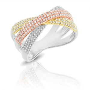 tricolor-diamond-ring