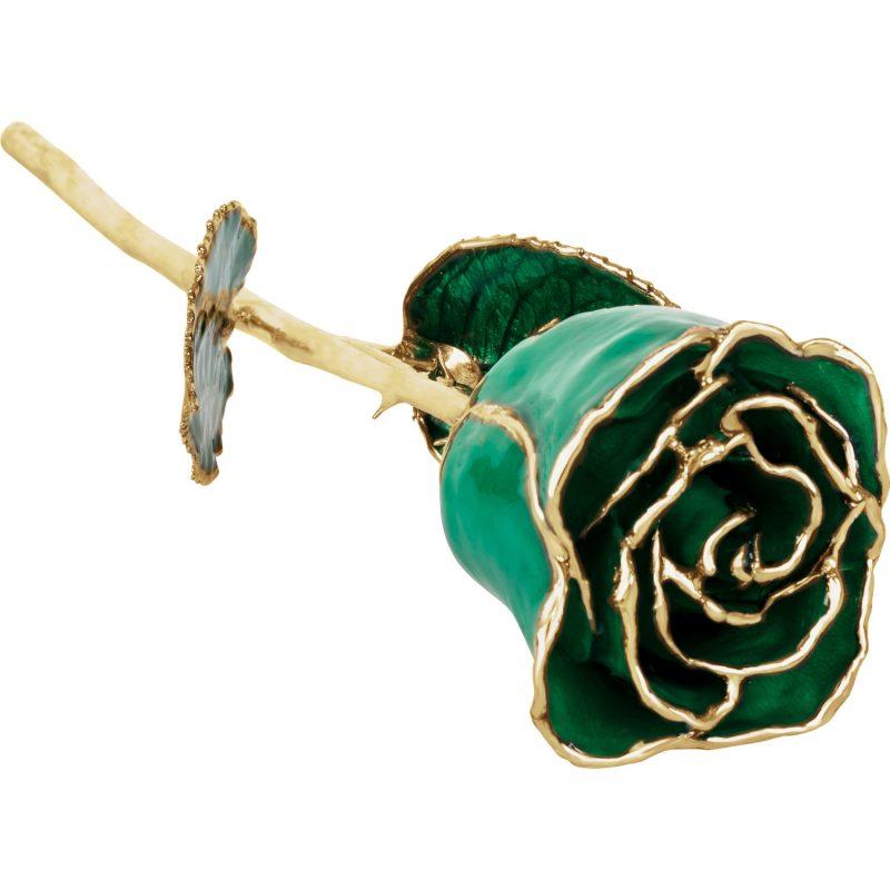 24k Forever Rose Emerald Green Ll Pavorsky